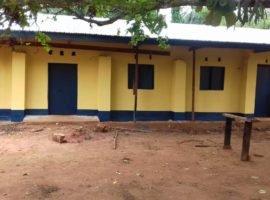 Les locaux du service de pédiatrie de l'HGR Bomininge apres le projet 7