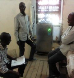 formation aux utilisateur de nouvel Autoclave St Luc Kisantu